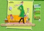 녹차가 다가올수綠 브랜드사이트 메인화면입니다.