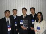 성균관대학교 노상도교수(盧相道․ 시스템경영공학부)가 이끄는 PLM연구팀(김건연 김유석 이주연 윤태혁)이 미국의 텍사스에서  열린 CAD/CAM/CAE 경진대회에서 최우수상('Go PLM Enigeering Excellence Award')을 6일 현지에서 받았다.