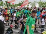 지난 5월 22일 신성통상(주)의 유니온베이(대표 허무영)에서 협찬한 국내 최대규모의 인라인 축제 MBC인라인 오픈 마라톤 대회가 성황리에 마쳤다.