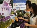 CJ는 100% 프랑스산 '백설 포도씨유' 출시 기념으로 오는 8월 4일까지 서울 시내 유명 백화점에서 <백설 포도씨유 프랑스 와인 축제>를 실시한다.