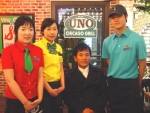 페밀리레스토랑 우노, 유명 디자이너 장광효 씨가 제작한 유니폼 입고 고급화된 서비스 제공