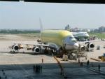 보잉 747 대형 화물 수송기 (LCF) 처녀 비행 앞두고 선보여