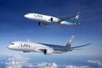 보잉, LAN 항공사와 787 32대 및 777 화물기 4대 계약 체결