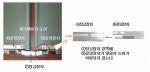 엘리베이터 도어 이탈방지 장치 실물사진(좌), 개념도(우)