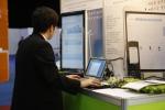 한국전시산업전에서 시연중인 expodesk 서비스
