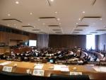 ▲ UN 제17차 지속가능발전 정규session 회의장 및 각 국의 참가자 모습