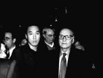 美 ASCAP 시상식 장에서 영화음악의 거장 엔니오 모리꼬네와 함께