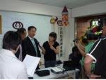 대만 방문활동과 관련해 Taiwan broadcasting system과 인터뷰 중인 (사)환경실천연합회 이경율 대표
