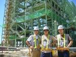 필리핀 세부(Cebu) 친환경 석탄화력 발전소 현장
