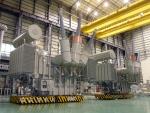 현대중공업이 생산한 초고압 대용량 변압기