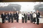 군산조선소 첫 선박 명명식 사진