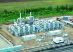 현대중공업이 칠레 쿠리코 지역에 설치한 이동식발전설비 현장.