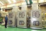 현대중공업이 대만 타퉁사에 기술 수출한 170kV급 GIS 제품.