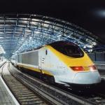 런던과 파리, 브뤼셀을 연결하는 초고속 열차 유로스타