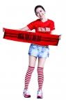 손예진, 월드컵 시즌 응원 패션 제안