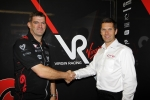 Graeme Lowdon(Virgin Racing) and Andrew Barrett