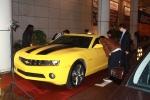 2010년 제 15회 부산국제 영화제의 성공적인 개막에 맞춰 GM DAEWOO는 주한 캐나다 대사관이 주관한 행사, '캐나디안 스포트라이트 (Canadian Spotlight)'에 시보레(Chevrolet) 카마로(Camaro)를 전시했다.