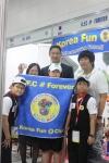 2010 세계로봇올림피아드(WRO)에서 초등창작부문 3위에 올라 'Bronze Award'를 수상한 경기 K.F.C#forever팀 서재현(용인마북초5) 정종인(용인독정초4) 이은솔 (광주매곡초5) (사진제공: 알코)
