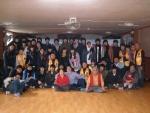 저동고교 학생들과 함게 봉사후