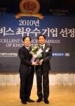 티바두마리치킨, 2010 지식 서비스 최우수기업 선정