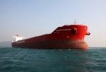 한진중공업, 노조 총파업 딛고 18만톤급 최신형 벌크선 완공