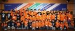 두산중공업 해외 건설 현장 임직원의 가족들이 패밀리두 프로그램 중 하나로 연세어학당에서 열리고 있는 영어캠프 '두산 주니어 글로벌 아카데미'에서  영어도 배우며 즐거운 시간을 갖고 있다.