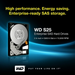 웨스턴디지털, 기업용 고성능 SAS 하드 드라이브 신제품 출시