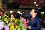 부처님 오신 날 무각사 봉축 법요식(관불의식)에 참석한 강운태 광주광역시장