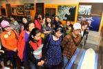 13일(금) 현대중공업을 방문한 '동구다문화가족지원센터'의 외국인 근로자 가족의 모습