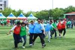5월 21일(토) 서부축구장에서 열린 '2011 외국인 감독관 체육대회' 모습.