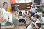 현대외국인학교 유치원반 수업 모습