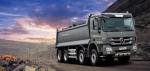 메르세데스-벤츠 트럭, 410마력 25.5톤 덤프트럭 '뉴 악트로스 3841K' 출시