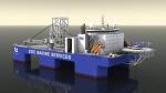 STX유럽이 건조하게 될 해저유전작업선 이미지