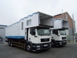MAN Truck, Introduction of Professional Cartering Special Vehicles