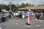 제주민속촌에서 즐거운 한 때를 보내고 있는 중국 바오젠 그룹 인센티브 관광단