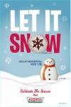 크리스피 크림 도넛(www.krispykreme.com)이 크리스마스 분위기를 북돋아줄 앙증맞은 모양의 크리스마스 스페셜 도넛 'LET IT SNOW' 2종을 12월 한 달 동안 한정 판매한다.