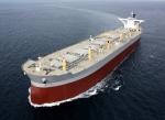 세계일류상품에 새로 선정된 현대중공업의 「초대형 석탄 및 유류운반선(VLOO)」