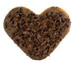 초코 발렌타인 도넛 (사진제공: 롯데리아)