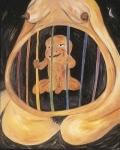 전시회'돌아가자,장미여관으로' 출품작 이재우_꿈_100.0x80.3cm_oil on canvas_1999 (사진제공: 43 Inverness Street)