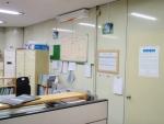 지하철 역무원실, 각분소 산소발생기 설치사진임