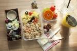 [사진설명] 쉐라톤 워커힐 호텔 출신 전문 조리사와 4인의 영양사가 공동 설계하여 맛과 영양, 스타일까지 모두 만족시킨 건강도시락 호밀L (4주 20회/가격 160,000원)