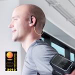 Jabra SPORT는 방수방진 성능으로 운동 중 음악청취 및 전화통화가 가능하며 FM라디오가 내장되었다. (사진제공: 가우넷)