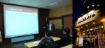 매니저양성프로그램(MTP)을 설명하고 있는 손재호 (주)금천F&B 대표이사 (좌) / 보리네생고깃간 비산 직영점 (우)