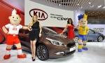 기아자동차는 6일(현지시간) 스위스 제네바 팔렉스포 전시장에서 열린 '2012 제네바 모터쇼'에서 '신형 씨드(cee'd)'를 전세계 최초로 공개했다.