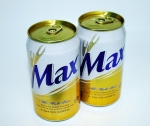 하이트진로가 자사의 100% 보리맥주 브랜드 '맥스'(Max) 캔맥주(355ml, 500ml)의 엔드를 새롭게 '골드 엔드'(Gold end)로 바꾸어 출시한다고 20일 밝혔다.골드 엔드