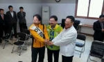 3월 22일 국회의원 후보등록을 하고 있는 정운천 전주 완산을 후보.