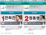 위치기반SNS 씨온의 후보자 선거사무소 화면