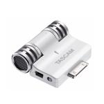 극동음향 전문가용 아이폰 도킹 스테레오 마이크 'TASCAM IM2'WHITE (사진제공: 극동음향)