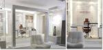 ▲삼현타일이 벽과 바닥 내장재를 협찬해 시공된 드라마 `패션왕`의 사무실 내부 모습
