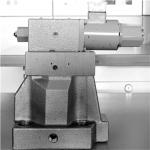 세원셀론텍이 한국기계연구원과 공동 연구개발해 국산화 및 상용화에 성공한 중대형 유압 플랜트용 핵심 비례압력제어 밸브 모습. 피드백제어시스템의 적용으로 기존의 밸브보다 업그레이드된 2단 구조의 이 대용량 비례압력제어 밸브는 고압∙대유량 시스템의 압력을 비례적으로 정밀하게 제어할 수 있다.